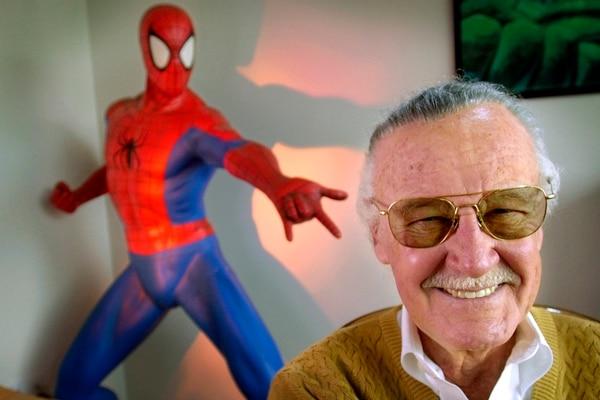 Stan Lee fue el creador de Hulk, X-Men entre otros. AFP.
