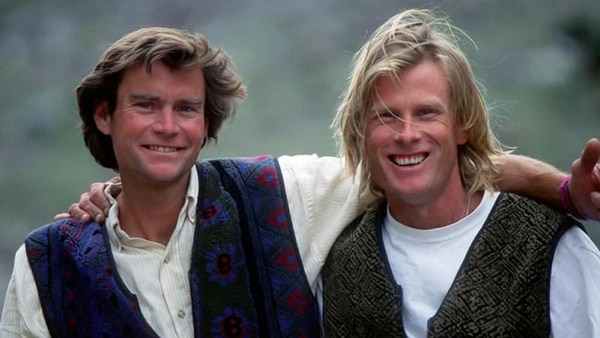 Alex Lowe y David Bridges murieron aplastados por una avalancha. / Foto: Alex Lowe Foundation.