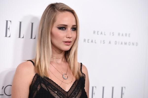 Jennifer Lawrence asisitió a lo Premios Elle Women el 16 de octubre del 2017, en Hollywood, donde reveló que ha sido objeto de abuso