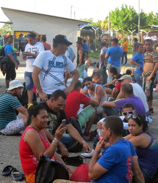 La negativa de Nicaragua a abrir sus fronteras a los cubanos ha generado un caos en las zonas aledañas a la frontera norte. | CARLOS HERNÁNDEZ