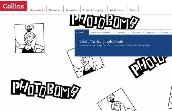 Photobomb significa entrometerse en la fotografía de otra persona.