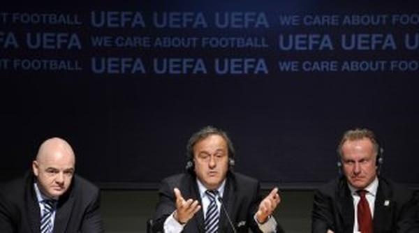 Gianni Infantino y Michel Platini fueron los promotores de la idea. | ARCHIVO.