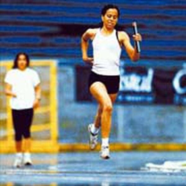 Gabriela Patterson era imponente en la pista. Fotografía: Archivo LN