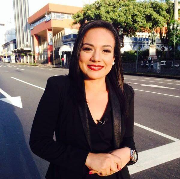 La periodista Jessica Quesada trabajó durante cuatro años y cuatro meses cubriendo política para Telenoticias.
