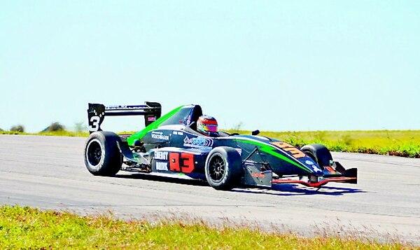André Solano durante la prueba disputada el domingo en Dallas, donde fue tercero. | CORTESÍA DE A3 ENERGY DRINK