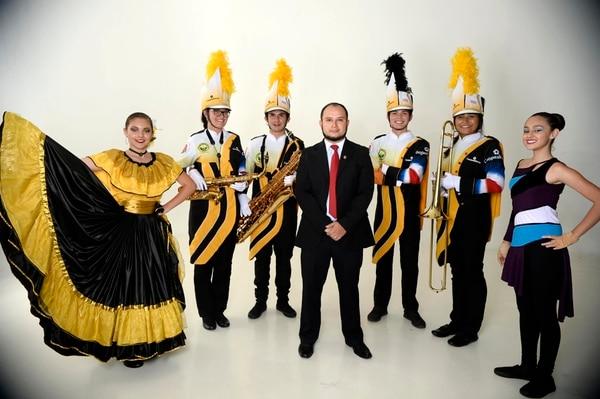La Banda Municipal de Acosta viajará el próximo 25 de diciembre a California para participar en el Desfile de las Rosas. Foto: Diana Méndez.