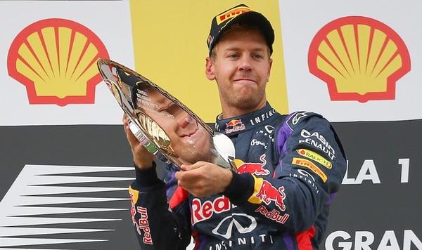 Sebastian Vettel ganó ayer su carrera 31 en la Fórmula Uno. | EFE