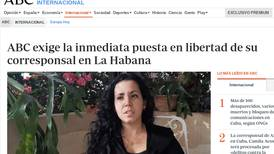 España pide a Cuba la liberación 'inmediata' de una periodista detenida