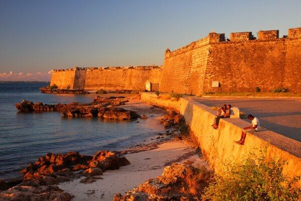 Este es el Fuerte de Maputo, en Mozambique. Fotografría: Shutterstock