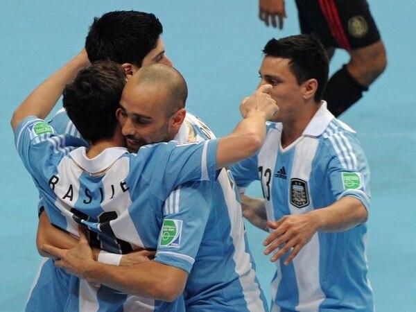 Argentina golea a México (5-1) en el Mundial de futsal - 1