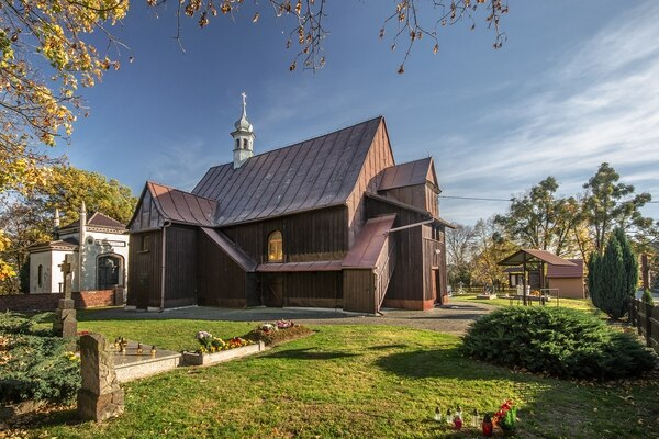 La iglesia de Miejsce Odrzańskie, la ciudad polaca en la que no han nacido varones en casi 10 años. Foto: Wikicommons