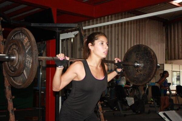 Ana María Porras ya entrena de manera normal.