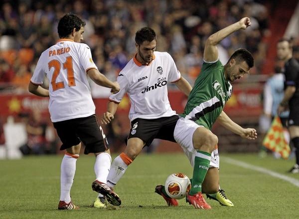 Valencia se enfrentó ante el St Gallen en la tercera jornada de Europa League.