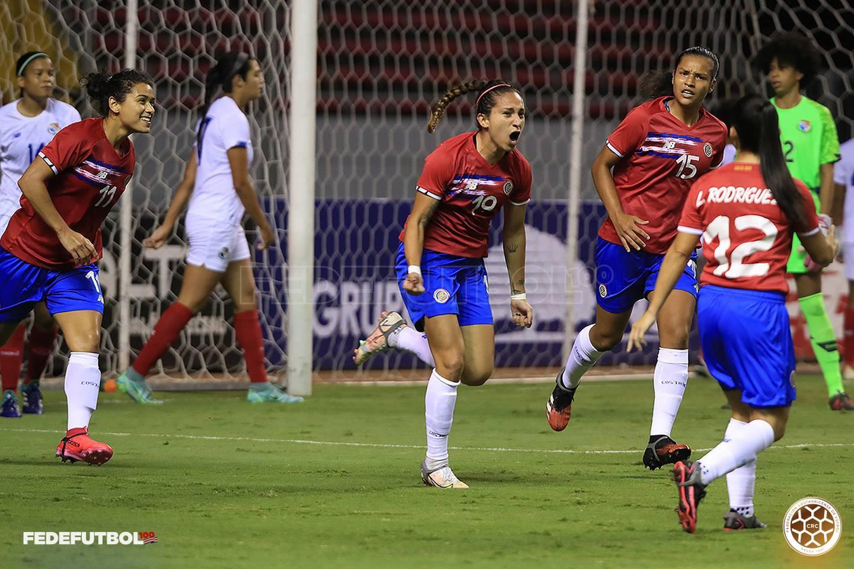 Amistoso entre las selecciones de Costa Rica y Panamá. Prensa Fedefútbol.