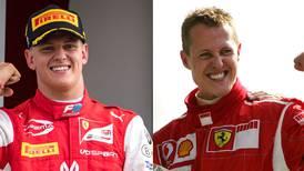 'Seguir los pasos (de mi padre) es genial', reconoce Mick Schumacher