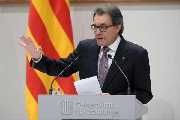 El anuncio fue realizado por el presidente regional, Artur Mas