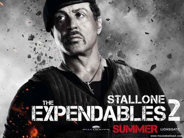 Figura. Sylvester Stallone, como Barney Ross, sigue siendo la referencia principal de The Expendables . Archivo