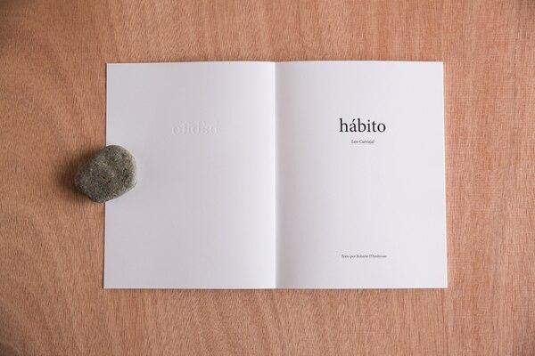 En Hábito , un fotógrafo expone su intimidad