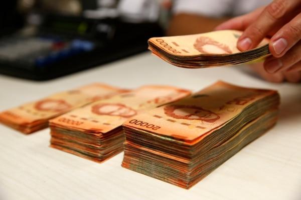 Las entidades financieras podrán utilizar ¢130.000 millones de estimaciones contracíclicas, para cubrirse en caso de deterioro de sus clientes. Dicha reserva se acumula desde el 2014. Fotos: Mayela López