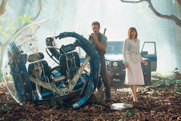 Reñida lucha. Jurassic World estuvo a punto de superar el récord de taquilla impuesto por 'Los Vengadores' en el 2009. Archivo