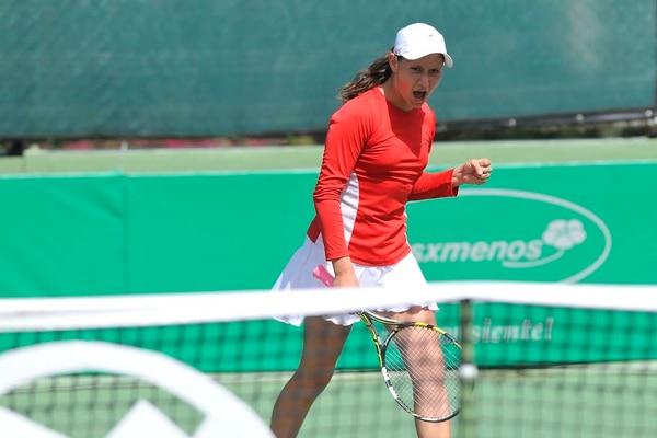 Tania Lea Aizenman fue la primera tica en pasar a la segunda ronda torneo Copa del Café.