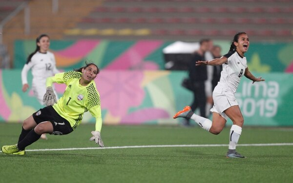 Daniela Cruz participó con la Selección Nacional en los Juegos Panamericanos de 2019. Fotografía: AP
