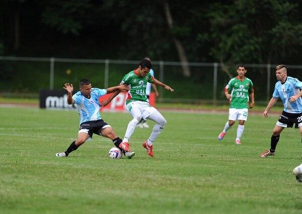 Universidad de Costa Rica y Asociación Deportiva Carmelita igualaron sin goles esta tarde en el Estadio Ecológico. | DIANA MÉNDEZ