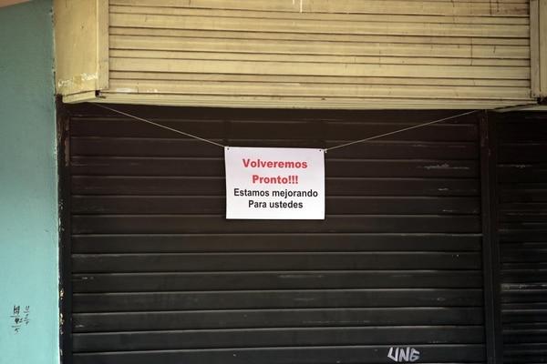 Mayoría de patronos que solicitaron suspensión de trabajo son del sector comercio y están ubicados en San José. Fotografía: Alonso Tenorio.
