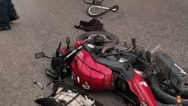 Ciclista fallece en colisión contra motocicleta en El Roble de Puntarenas