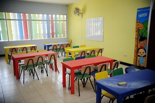 En el país hay 620 centros de cuido infantil que atienden una población de casi 3.000 menores de edad en condición de pobreza. Foto: Marcela Bertozzi