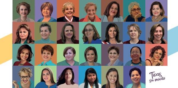 Estas son las mujeres que cuentan su historia en el libro