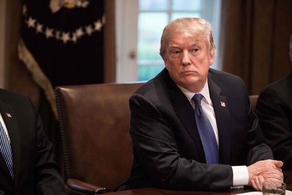 Donald Trump canceló su gira por América Latina. Foto: AFP/Archivo