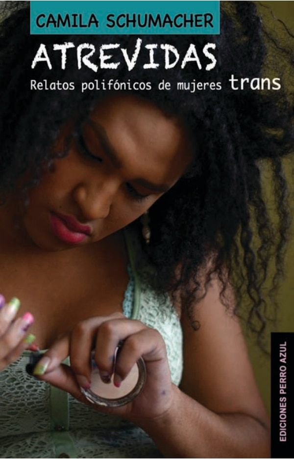 Portada del libro 'Atrevidas', editado por Editorial Perro Azul.