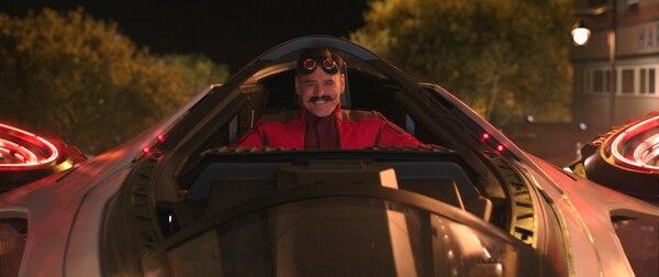 Jim Carrey dara vida al Dr. Robotnik, el antagonista de la historia. Foto: Cortesía de Paramount Pictures and Sega of America.
