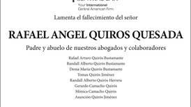 Rafael Angel Quiros Quesada
