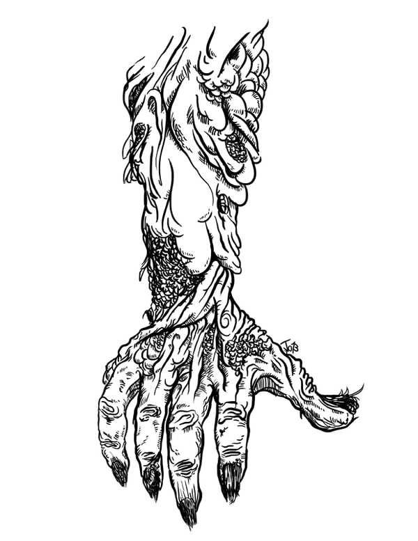 El libro cuenta con varias ilustraciones de Josué Garro.