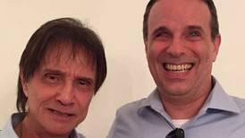 Falleció Dudu, el hijo de Roberto Carlos