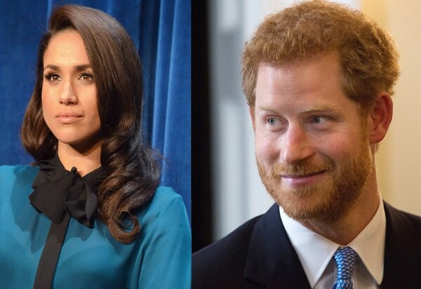 El príncipe Harry anuncia su compromiso con la actriz estadounidense Meghan Markle