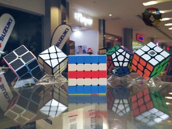 Fotos: Bekubes; El sábado y el domingo hay un torneo de cubos de Rubik en Desamparados, van a llegar
