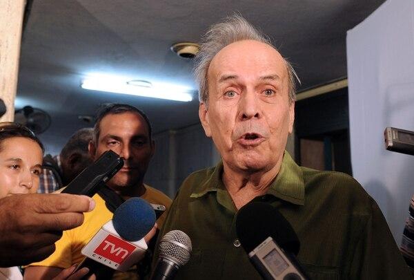 Ricardo Alarcón queda al margen del aparato institucional.   ARCHIVO