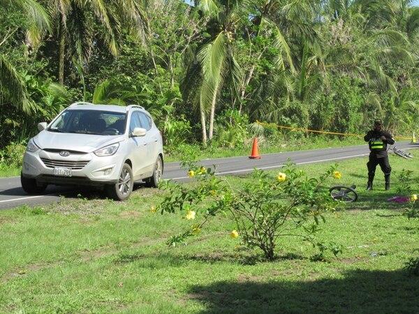 El percance se dio en frente al hotel Colón Caribe.