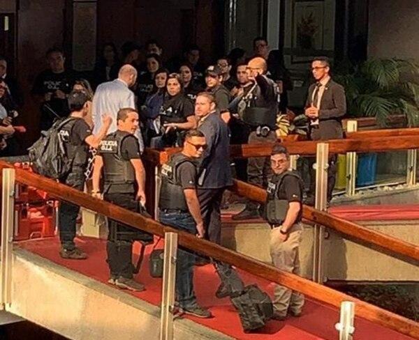 OIJ destinó 45 oficiales a allanamientos en Presidencia, Mideplán y cuatro casas por el caso de la UPAD.
