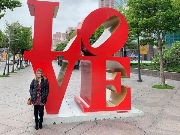 María José Cubero vive en Taipéi desde hace casi tres años. Cortesía