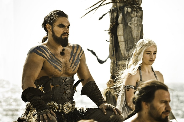 David J. Peterson inventó los idiomas que hablan personajes como Khal Drogo (dothraki) y Daenerys Targaryen (valirio) en Game of Thrones. Foto: fandom.com
