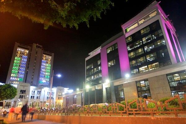 El Banco Central contará, para la segunda mitad del 2019, con un nuevo edificio donde se ubicarán cuatro superintendencias y el Conassif. El proyecto tendrá un costo total de $43,1 millones y será desarrollado por un fondo de inversión de BN Fondos. Foto: Rafael Pacheco