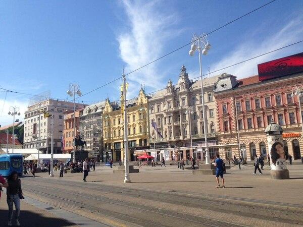 Centro de Zagreb, Croacia. Fotografía: Jairo Villegas S.