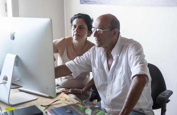 Yazmín Ross y Luciano Capelli trabajan con la literatura y el arte. | LUCIANO CAPELLI