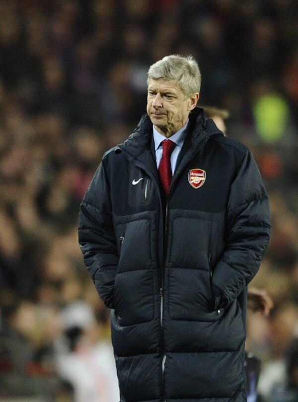 Arsene Wenger dirige al Arsenal de Inglaterra desde 1996. | ARCHIVO