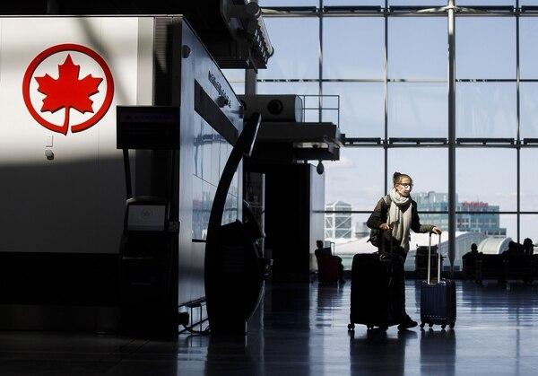 Este es el centro de operaciones de Air Canada en el aeropuerto de Toronto. FOTO AFP