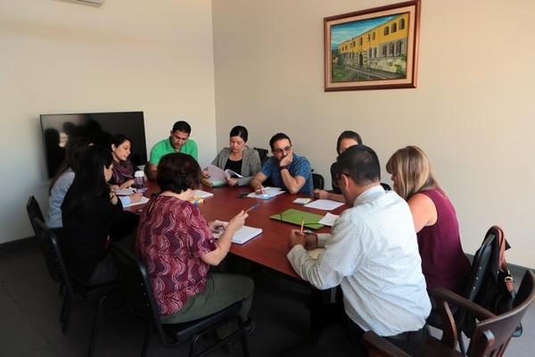 05/03/2018 Equipo interdisciplinario del MEP en el Liceo de Costa Rica.